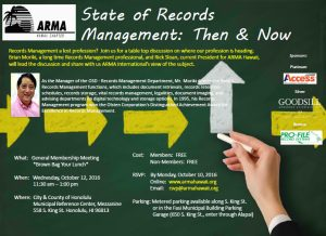 Read more about the article State of Records Management: Then & Now