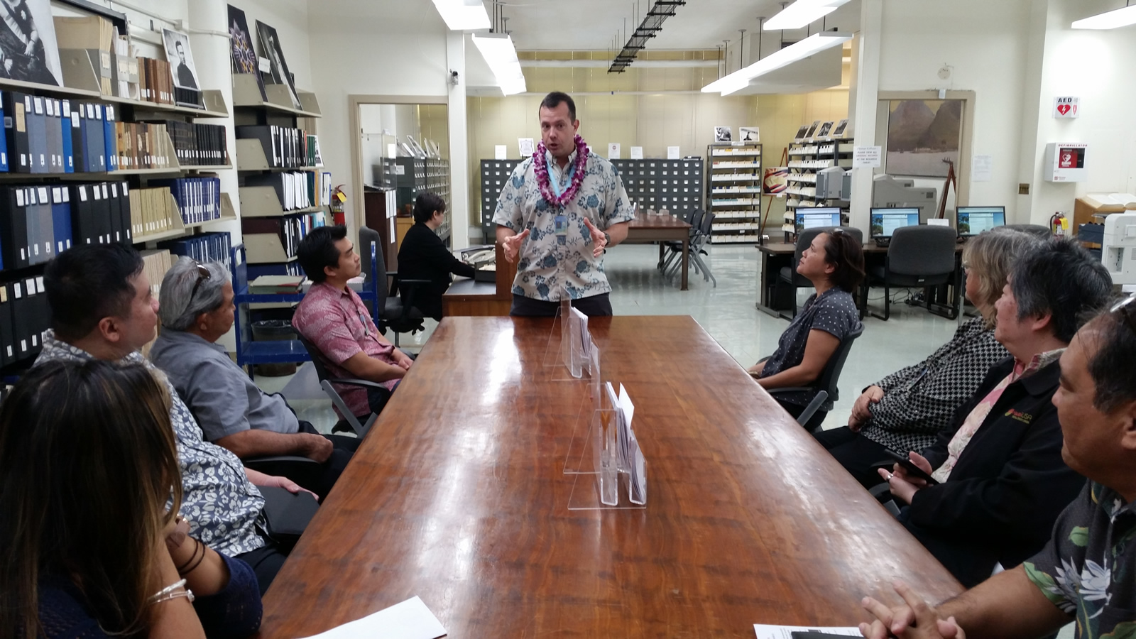 Read more about the article Hawai`i State Digital Archives, Digital Preservation and Digitization Projects Tour